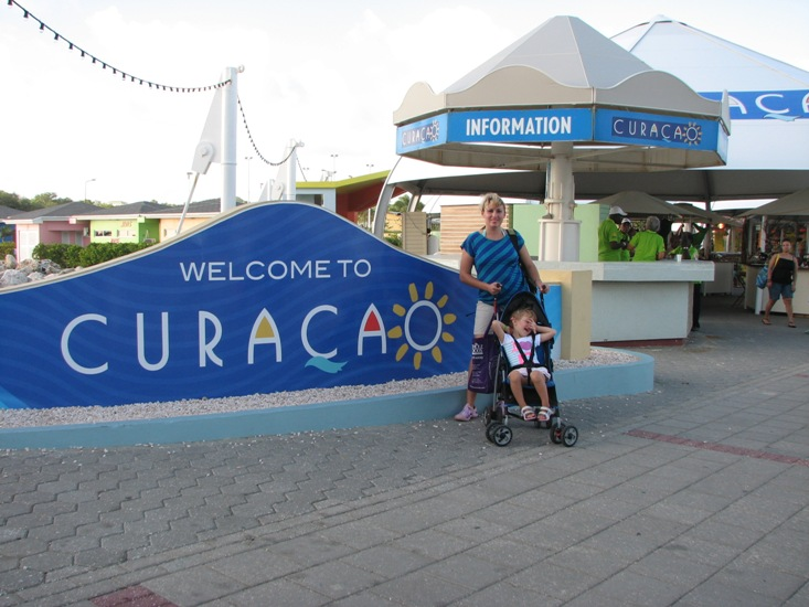 Curacao visit during Caribbean cruise