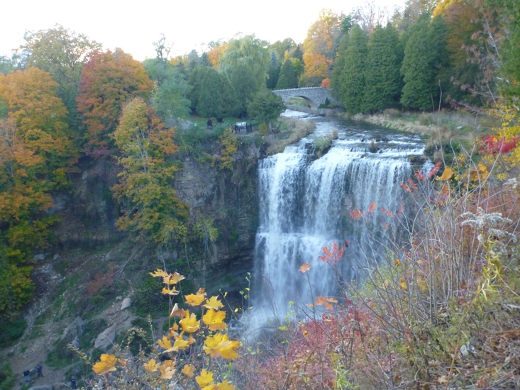 Spencer Gorge Falls in Ontario 2