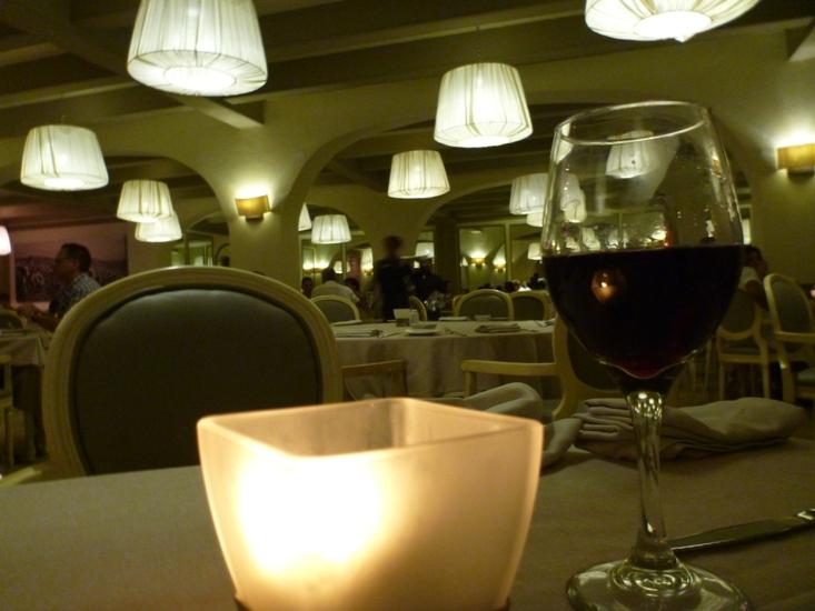 Cozy atmosphere at Italian restaurant